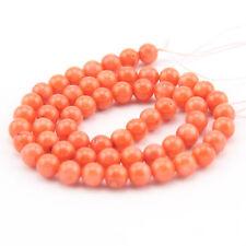 Schmuck und Koralle in Orange