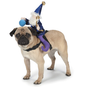 New in Package XL Dog Halloween Costume Wizard Saddle Pet Zack & Zoey
