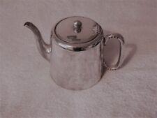 SILVER Plated Tea Pot REG. Platone E.P.N.S. 8 V Made in England