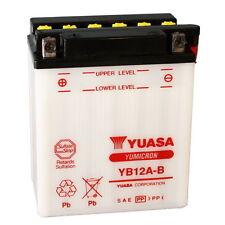 Batteria ORIGINALE Yuasa YB12A-B + ACIDO HONDA XL600V TRANSALP 1987 - 2000