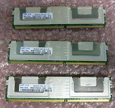 3 X Samsung m395t5750ez4-ce65 Server di memoria RAM 2GB 2Rx4 pc-5300f CL5 1.8 V ecc