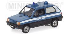 Fiat Panda 1980 Polizia Stradale 1:43 Model 400121490 MINICHAMPS