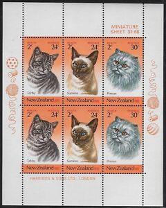 New Zealand: 1983 Health Issue Souvenir Sheet Sc #117a, MNH - ow285