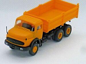 KIBRI camion benne MERCEDES BENZ en HO 1:87eme