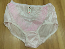 Panties Vintage Style Knickers Nylon Full Lace Sheer Briefs Gusset Large Lace