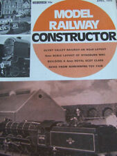 April Model Railway Constructor Craft Magazines in English