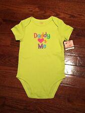 NWT Carters Infant Baby Unisex Short-Sleeve Bodysuit 24 Months
