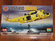 Airfix 1/72 Westland Sea King Helicopter RAF Rescue HAR3, RNAF Mk43 NIB