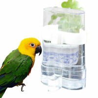 200ML Bird Pet Drinker Feeder Waterer Clip For Aviary Cage Lovebirds Budgie C1A5