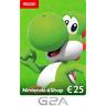 Nintendo eShop Tarjeta Prepago 25 EUR - Switch WiiU Código €25 ES
