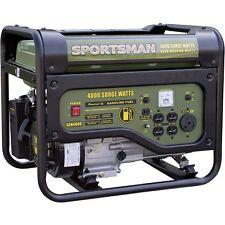 Portable Gas Generator Emergency Home Camping Power 4000 Watt