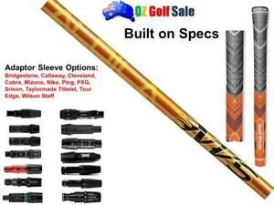 Aldila NVS 45A Senior Flex Shaft + Adaptor Sleeve Tip + Grip - Built To Spec