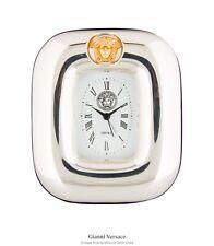 Gianni Versace Sterling Silver Medusa Desk Clock