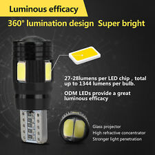 2x T10 LED 6 SMD 5730 Canbus fehlerfrei Auto Wedge Bulb Nummernschild Licht DE