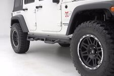 Smittybilt Wheel To Wheel Nerf Bars w/ Step 2007-2016 4dr Jeep Wrangler JK J0764