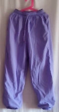 Mauve  Lilac Trousers with elasticated ankle and waist Age 10 St Michael 1980s