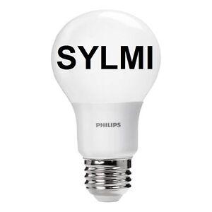 PHILIPS 40W Equiv LED Light Bulb SUPER BRIGHT Glow 5000k Daylight A19 5W 40 Watt