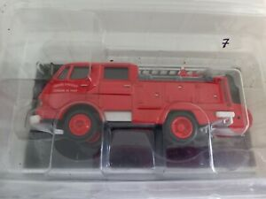 Del Prado Feuerwehrauto - 1976 Premier Secours Citroen 350 - Neu