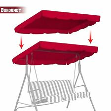 """Patio Swing Canopy Replacement Top Cover Porch Outdoor 77""""x43"""""""