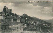 Primi anni 1900 Rep. San Marino - Vista delle Tre Torri - FP B/N VG
