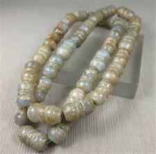 Chinese Old Rare Jade Jadeite Hand-carved Jade Necklace