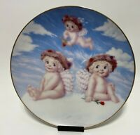 The Hamilton Collection by Kristin- Dreamsicles Plate Love's Shy Glance Numbered