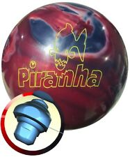 Columbia 300 Piranha Red Smoke White New 15LB RARE OVERSEAS Bowling Ball