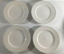 "(4) Mikasa PLAZA LANE  8 3/8"" Salad Plates"