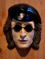 Famous John Lennon The Beatles Wall Mask Head 1960's Chalkware
