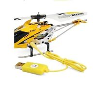 Plomo de Cargador USB para helicóptero RC Mini Indoor S107G Syma