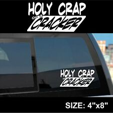 Big Bang Theory - Holy Crap on a Cracker - Penny Sticker Decal