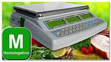 Balance POIDS PRIX pour marché, fruits et légumes 15kg x 5g NEUVE