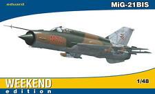 eduard MiG-21BIS 21 BIS Kapos 2nd Boszorkany Squadron Ungarn Modell-Bausatz 1:48