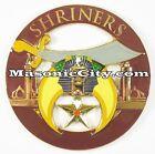 Z-76 Shriner Auto Emblem Shrine Temple FreeMasonry Mason Masonic Car PHA Lodge