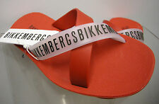 Ciabatta mare uomo BIKKEMBERGS a.P214 W72 T.40 c.4000 ROSSO RED slippers man
