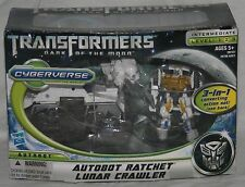 transformers dotm dark of the moon cyberverse autobot ratchet lunar crawler MISB
