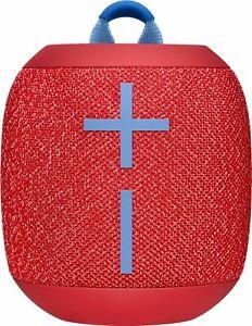New Ultimate Ears Wonderboom 2 Ultraportable Bluetooth Speaker -Radical Red