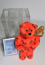 1999 Salvino Bammers Mohammed Ali Plush Bear With Certificate & Storage Case