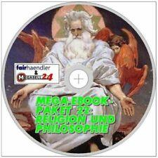 ☝ MEGA EBOOK PAKET 22 CD RELIGION und PHILOSOPHIE 75 eBooks ePUB PDF MEP DVD NEU