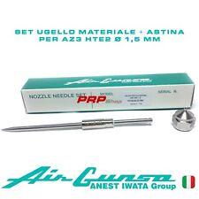 Set Ugello Materiale + Astina per Air Gunsa AZ3 HTE2 - Nozzle Needle Set 1.5 mm