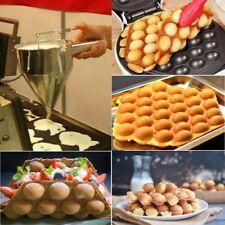 Stainless Steel Donut Cupcake Waffle Batter Funnel Pancake Dispenser&