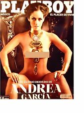 PLAYBOY MEXICO ANDREA GARCIA DECEMBER 2014 PLAYBOY MEXICAN EDITION 12/2014