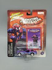 Johnny Lightning Amazing Spider-Man Chrysler Atlantic White Lightning
