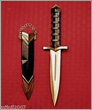 """11.75"""" Ornate Medieval Dagger with Scabbard"""