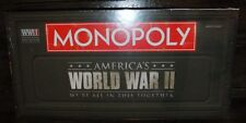 NIB Monopoly World War II Hasbro Board Game  - We Are All In This Together