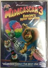 NEW!!  MADAGASCAR 3 EUROPE'S MOST WANTED DVD 3 for $12.99