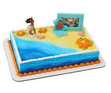 Moana Disney movie figurine cake decoration Decoset cake topper set toys