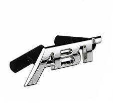 3D Metal ABT Emblem Front Grille Grill Badge Fit For VW CC Polo passat Car Logo