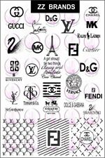 Designer Nail art stamping plate (ZZ Brands)