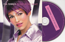 CD CARTONNE CARDSLEEVE YSA FERRER FLASH IN THE NIGHT 2T DE 1999
